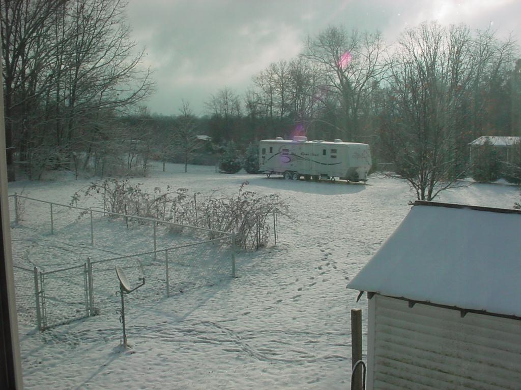 Pasture Snow 12-5-09
